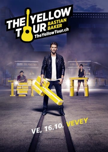 BASTIAN BAKER (CH) – The Yellow Tour – SOLD OUT! - Rocking Chair Vevey