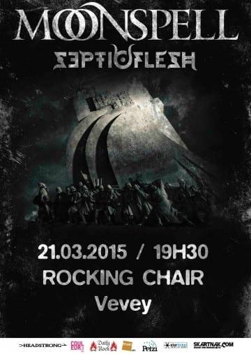 MOONSPELL (PT) + SEPTIC FLESH (GR) - Rocking Chair Vevey