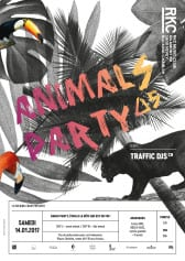 ANIMALS PARTY ∆5 – TRAFFIC DJs - Rocking Chair Vevey