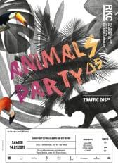 ANIMALS PARTY ∆5 – TRAFFIC DJs - Rocking Chair Vevey