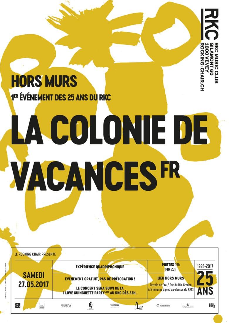 HORS MURS: LA COLONIE DE VACANCES (FR) - Rocking Chair Vevey