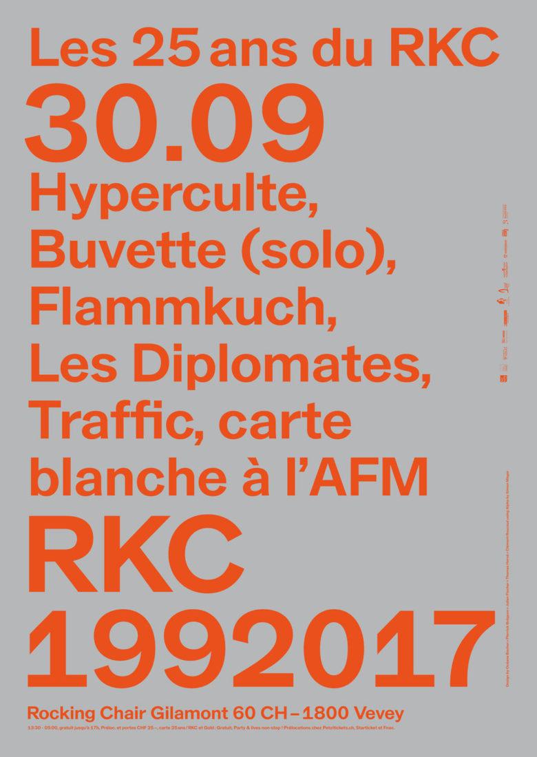 LES 25 ANS DU RKC #RKC1992017 - Rocking Chair Vevey