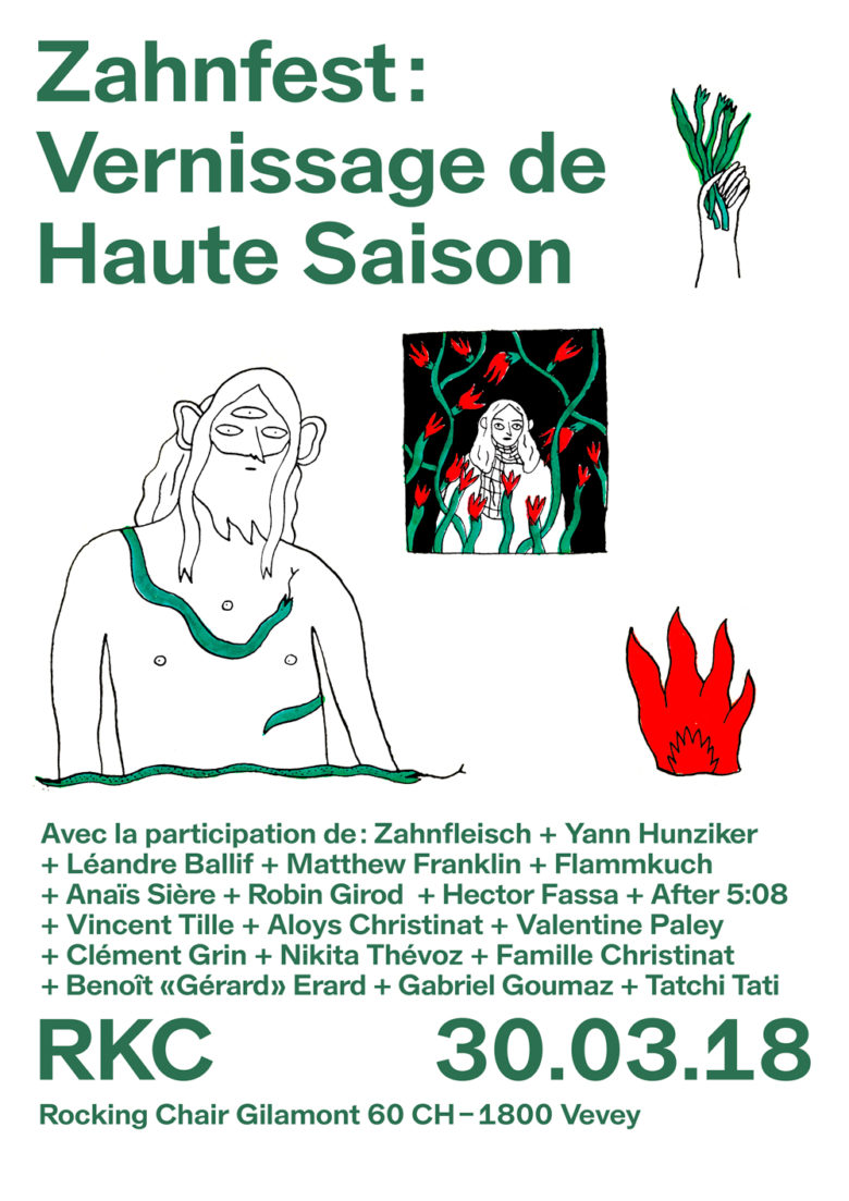Zahnfest : Vernissage de Haute Saison - Rocking Chair Vevey