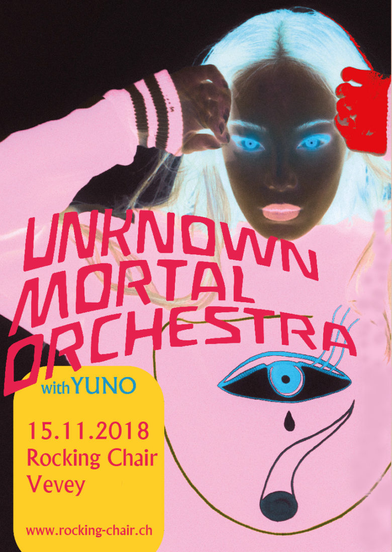 Unknown Mortal Orchestra (NZ) + Yuno (US) - Rocking Chair Vevey