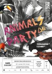 ANIMALS PARTY ∆6 – TEUFALGAN500 & ZE MOG - Rocking Chair Vevey
