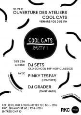 COOL CATS PARTY / numéro 1 - Rocking Chair Vevey