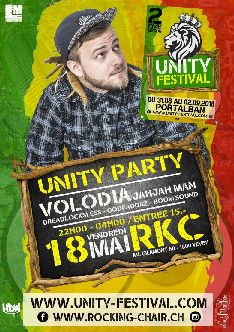 Unity Party #1 - Rocking Chair Vevey