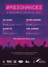 #RÉSONANCES : PETER KERNEL (TI) + ZAHNFLEISCH (Vevey) + WOODMADE (Vevey) - Rocking Chair Vevey