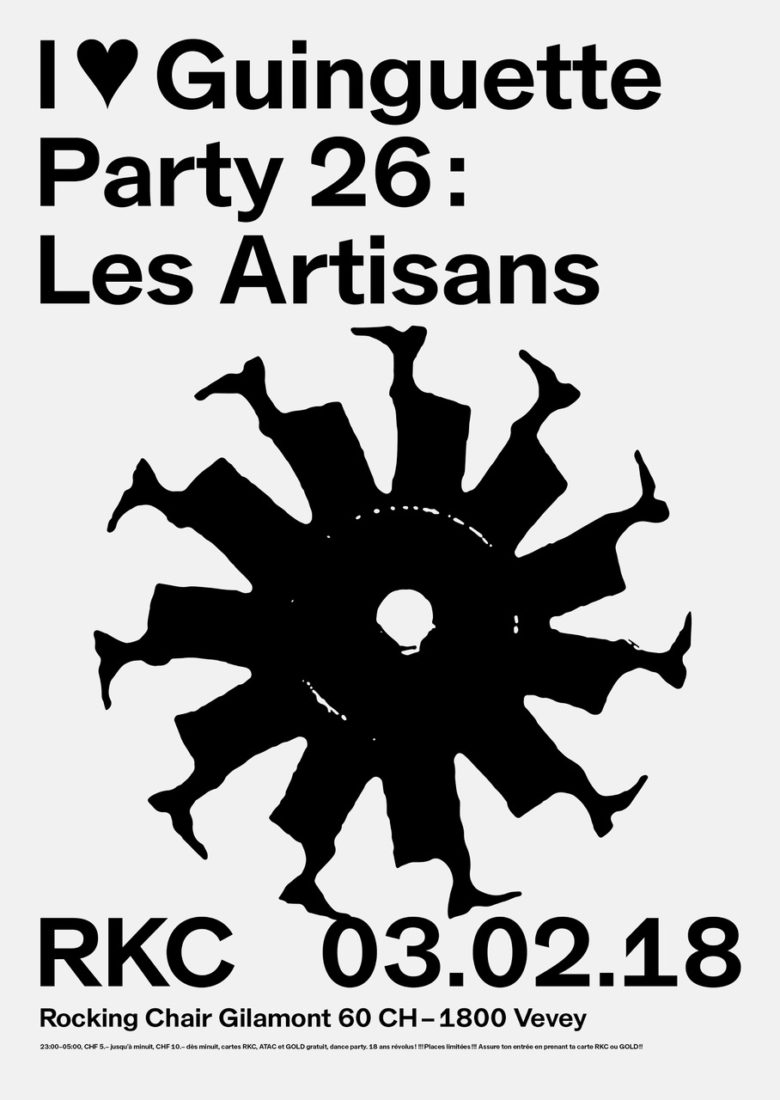 I ♥ Guinguette Party #26 – Les Artisans - Rocking Chair Vevey
