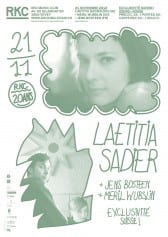 Laetitia Sadier (Stereolab, FR/UK)+ MERIL WUBSLIN (CH) + JENS BOSTEEN (FR) | EXCLUSIVITE SUISSE ! - Rocking Chair Vevey