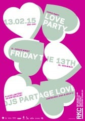 Friday the 13th – Love Party ♥ - Rocking Chair Vevey