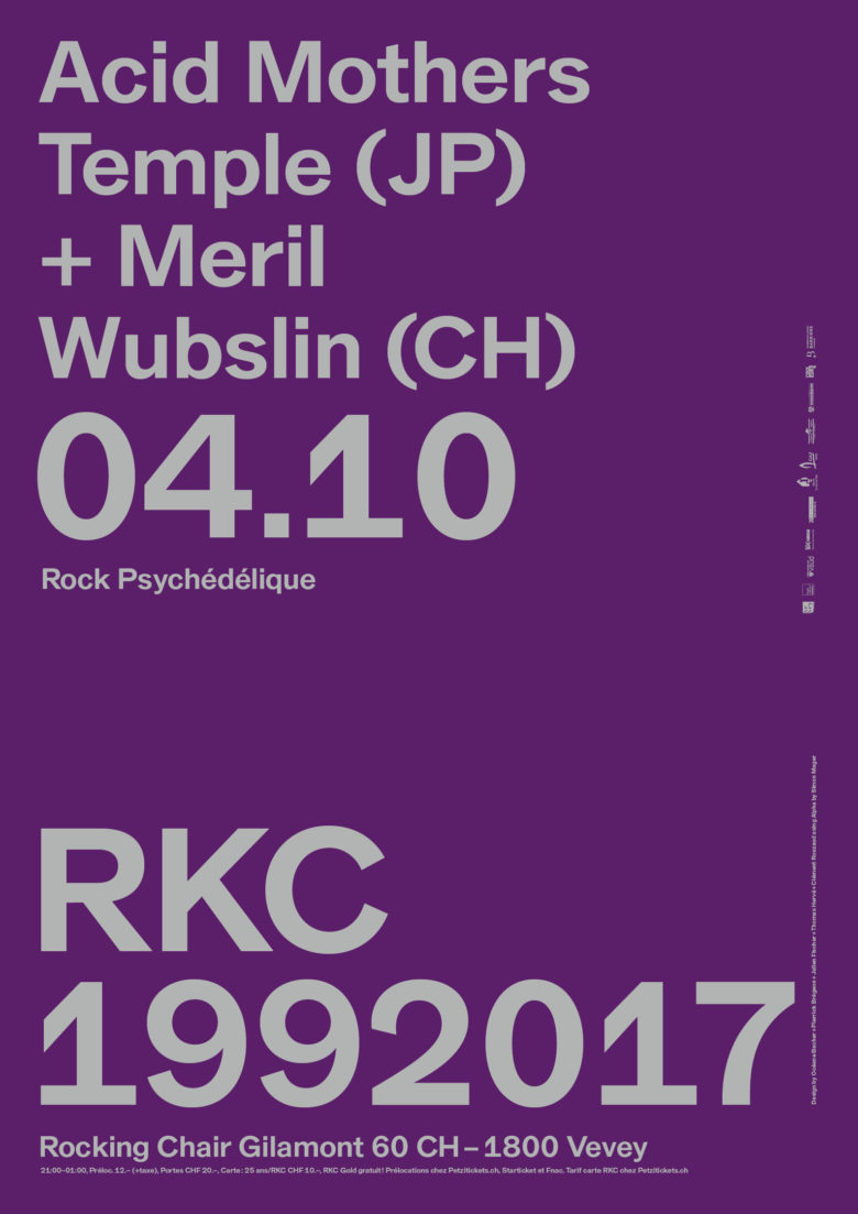 ACID MOTHER TEMPLE (JP) + MERIL WUBSLIN (CH) - Rocking Chair Vevey