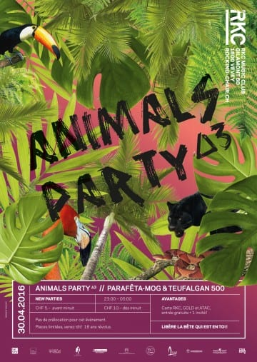 ANIMALS PARTY ∆3 – Parafêta-Mog & Teufalgan 500 - Rocking Chair Vevey