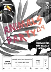 ANIMALS PARTY ∆4 – POLYDANCE DJs (ALAN BOLUMAR & ANDROO) - Rocking Chair Vevey