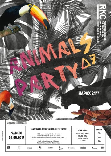 ANIMALS PARTY ∆7 – HAPAX 21 - Rocking Chair Vevey