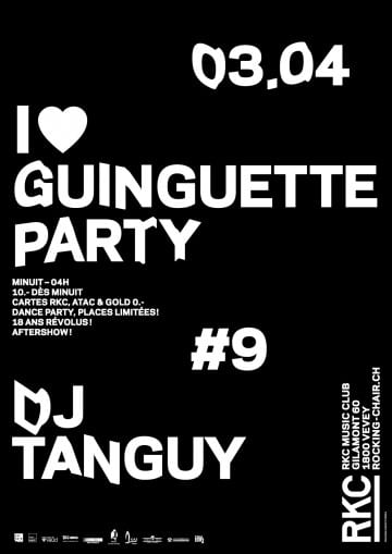 I ♥ Guinguette party #9 - Rocking Chair Vevey