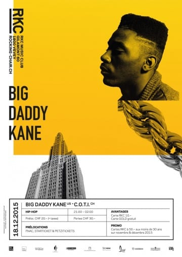 BIG DADDY KANE (US) + C.O.T.I. (CH) - Rocking Chair Vevey