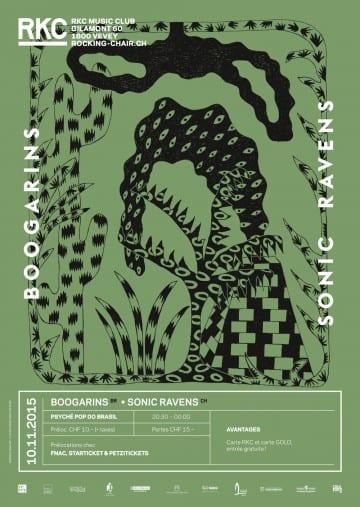 BOOGARINS (BR) + SONIC RAVENS (CH) - Rocking Chair Vevey