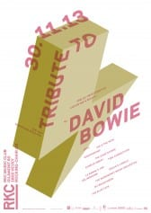 TRIBUTE TO DAVID BOWIE - Rocking Chair Vevey