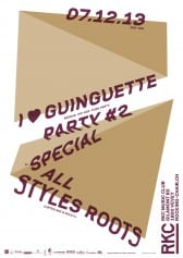 I  ♥ GUINGUETTE PARTY #2 – SPECIAL REGGAE ALL STYLES - Rocking Chair Vevey