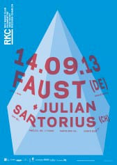 FAUST (DE) + JULIAN SARTORIUS (CH) - Rocking Chair Vevey