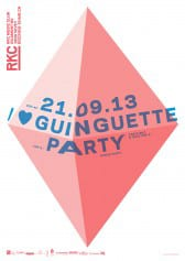I ♥ GUINGUETTE PARTY - Rocking Chair Vevey