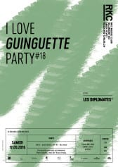 I ♥ GUINGUETTE PARTY #18 – LES DIPLOMATES (F) - Rocking Chair Vevey