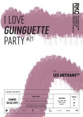 I ♥ GUINGUETTE PARTY #21 – Les Artisans - Rocking Chair Vevey