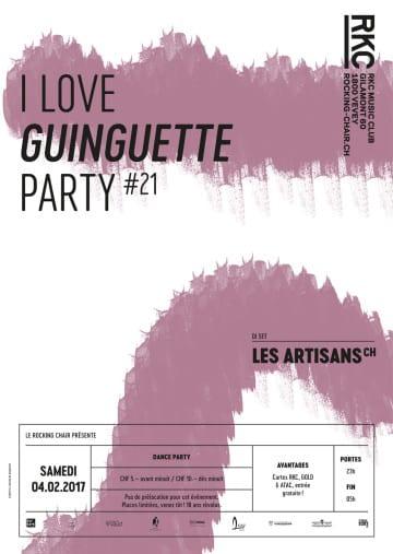 I ♥ GUINGUETTE PARTY #21 – Les Artisans - Rocking Chair Vevey