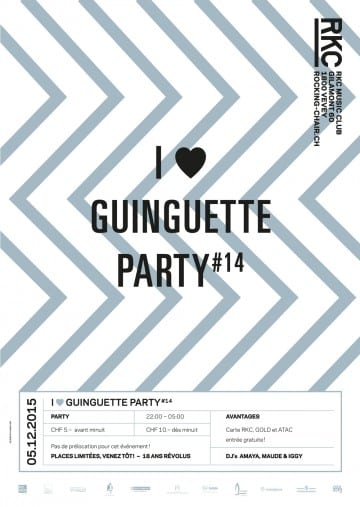 I ♥ GUINGUETTE PARTY #14 - Rocking Chair Vevey