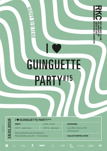 I ♥ GUINGUETTE PARTY #15 - Rocking Chair Vevey