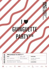 I ♥ GUINGUETTE PARTY #16 – Blaster B - Rocking Chair Vevey