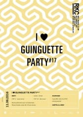 I ♥ GUINGUETTE PARTY #17 – CHEPTEL DJ CREW - Rocking Chair Vevey