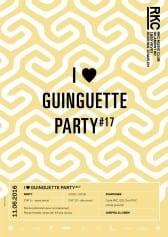 I ♥ GUINGUETTE PARTY #17 – CHEPTEL DJ CREW - Rocking Chair Vevey