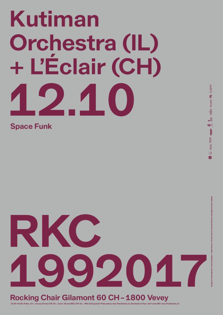 KUTIMAN ORCHESTRA (IL) + L'ÉCLAIR (CH) - Rocking Chair Vevey