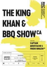 THE KING KHAN & BBQ SHOW (CA) + Captain Moustache & Fredo Ignazio (CH) - Rocking Chair Vevey
