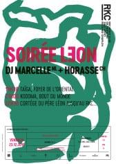 SOIRÉE LƎON – DJ MARCELLE (NL) + HORASSE (CH) - Rocking Chair Vevey