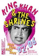 KING KHAN & THE SHRINES (CA/DE) + DUCK DUCK GREY DUCK (CH) - Rocking Chair Vevey