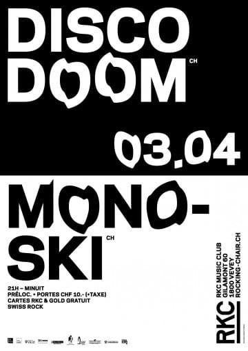 DISCO DOOM + MONOSKI – Swiss Rock! - Rocking Chair Vevey
