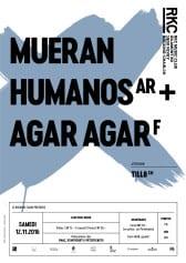 MUERAN HUMANOS (AR) + AGAR AGAR (F) + TILL8 - Rocking Chair Vevey