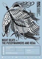NIGHT BEATS (US) + THE PUSSYWARMERS AND RÉKA (CH) - Rocking Chair Vevey