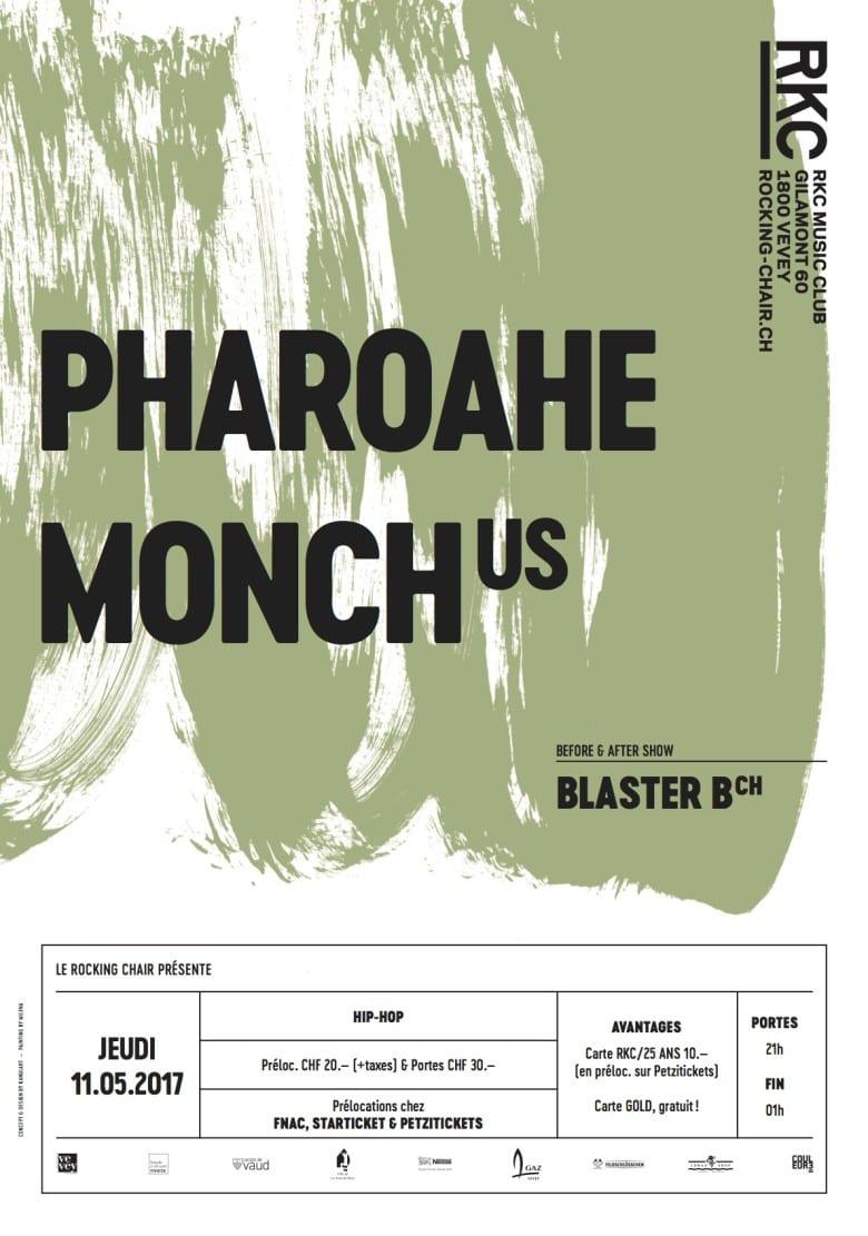 PHAROAHE MONCH (US) + BLASTER B (CH) - Rocking Chair Vevey