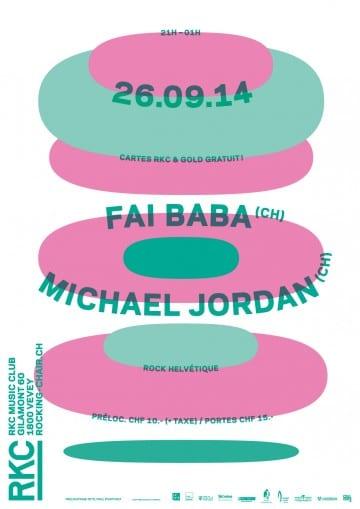 FAI BABA (CH) + MICHAEL JORDAN (CH) - Rocking Chair Vevey