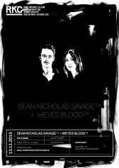 SEAN NICHOLAS SAVAGE (CA) + WEYES BLOOD (US) - Rocking Chair Vevey