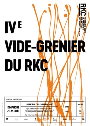 IVe VIDE-GRENIER DU RKC - Rocking Chair Vevey