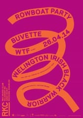 ROWBOAT PARTY : BUVETTE + WELINGTON IRISH BLACK WARRIOR + WTF (DJ set) - Rocking Chair Vevey