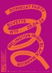 ROWBOAT PARTY : BUVETTE + WELINGTON IRISH BLACK WARRIOR + WTF (DJ set) - Rocking Chair Vevey
