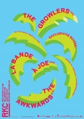 THE GROWLERS (US) + LA BANDE A JOE (CH) + THE AWKWARDS (CA-CH) - Rocking Chair Vevey