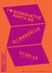 I ♥ GUINGUETTE PARTY #5 : DJ MARCELLE - Rocking Chair Vevey