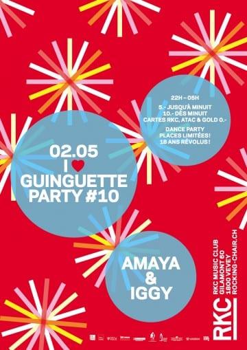 I ♥ GUINGUETTE PARTY #5 : DJ MARCELLE - Rocking Chair Vevey